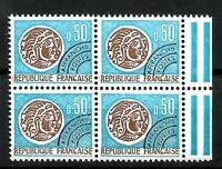 France 1964 Préoblitéré Bloc de 4  n° 128 Neuf ★★ luxe / MNH