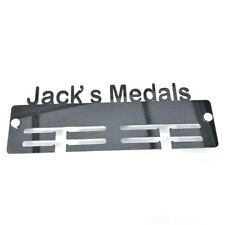 """Your Name Medals"" Personalised Medal Hangers - Various Colours Available"