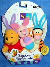 DISNEY EASTER POOH-RADE Winnie the Pooh, Tigger, Piglet, Stuffed Toys 1997 B2