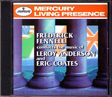 FENNELL: ANDERSON & COATES London Suite of Carols MERCURY LIVING PRESENCE CD