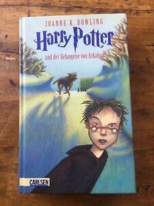 Harry Potter und der gefangene von Azkaban JK Rowling Deutschland Carlsen
