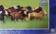NEW Puzzlebug 500 Piece Jigsaw Puzzle ~ Running Free
