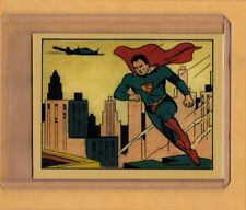 Superman #1 Gum Inc litho reprint card