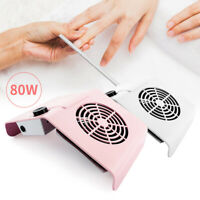 Electric Nail Art Dust Vacuum Cleaner Suction Collector Remover Manicure Machine