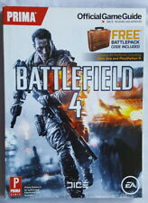 PRIMA OFFICIAL GAME GUIDE - BATTLEFIELD 4 WITH KEYBOARD LAYOUT CARD.