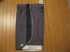 Men's Gray Adidas Climalite 3G Speed 2.0 Athletic Shorts Size S Nwt!