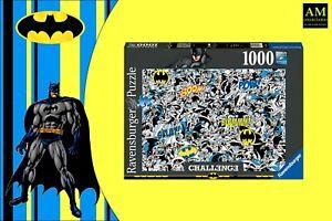 Ravensburger Premium Puzzle - Dc Comics Challenge 3 - Batman - 1000 Pieces New /