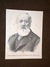 Antonio Giuseppe Meucci Firenze Inventore del telefono