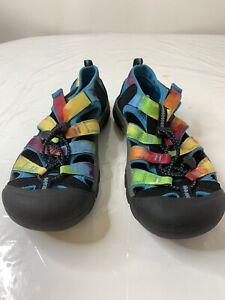 Women's Keen Rainbow Tie Dye Waterproof Sandals Size 6