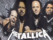 Metallica T-Shirt, World Magnetic Tour, 2009 Concert Tee Shirt XL BLACK MINT