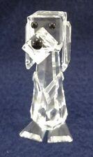 Swarovski Clear Crystal Pluto Standing Dog Signed
