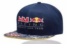 Puma Red Bull F1 2016 Verstappen Flat Cap Hat Official Racing Team RRP £65