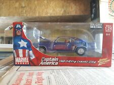 1/24 scale johnny Lightning  Captain America