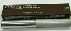 FULL SIZE CLINIQUE Almost Lipstick - Black Honey 0.06oz 1.9g NIB