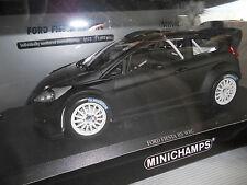 Ford Fiesta RS WRC Street version 1:18 2011 Matt Black