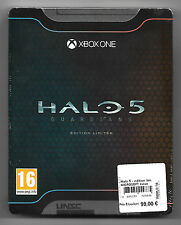 HALO 5 GUARDIANS COFFRET EDITION LIMITEE - VF Neuf sous blister Jeu XBOX ONE