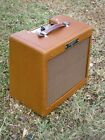 Dark Lacquer Classic Tweed Champ All Tube Amp 5W! Carl's Custom Amps! for sale
