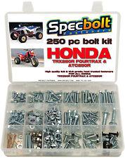 250pc Bolt kit Honda TRX250R Fourtrax 250R fenders plastic body engine frame ATC