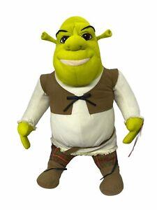 "NWT Hasbro Shrek 2 Ogre Plush Jumbo Stuffed Doll Toy 25"" Tall Dream Works"