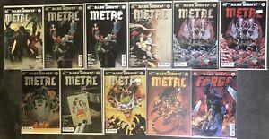 Dark Nights Metal 1-6 DC Batman Signed Greg Capullo Johnathan Glapion Variants!