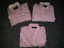 Mens pink  shirts x 3 bundle
