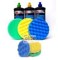 3M Perfect-it III Triple Polishing & Compounding Set & 150mm & 80mm Machine Pads