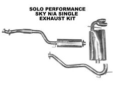 Saturn Sky 2.4L Cat Back Single Exhaust by Solo Performance High Flow