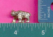 12 wholesale lead free pewter bear figurines A1017