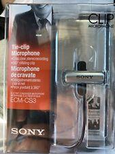 Sony Clip Microphone Ecm-Cs3