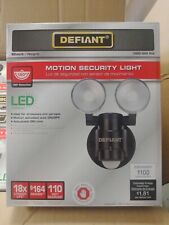 4 count case packDefiant LED DFI-5936 180-Degree 2Head Outdoor Motion Activated