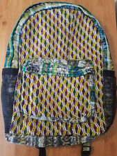 Handmade Woven Backpack Mexican Colorful Chiapas