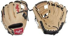 """Rawlings Camel/Black 11.25 Heart Of The Hide Narrow """"Pedroia"""" Fit Baseball Glove"""