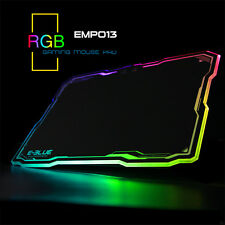 USB LED Lighting Hard Gaming Mouse Pad Wired RGB PC Computer Notebook Mice Mat