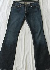 Citizens of Humanity Women's Denim Jeans Kelly Bootcut Low Waist Size 32 EUC