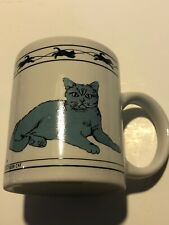 Cat Lovers Limited Collectable Cats Mug Charteux Turkish Van