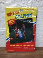 New Vintage Inflatable Water Dolphin Sprayer 36""