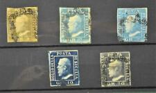 SICILY ITALY STAMPS SELECTION OF 5 ON STOCK CARD   (Z7)