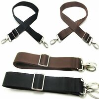 Nylon Adjustable Shoulder Bag Belt Replacement Solid Strap Cross body Handbag
