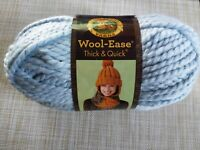 Lion Brand Wool-Ease Thick & Quick Yarn Super Bulky Acrylic Wool Mystical