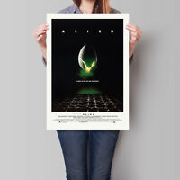 Alien Movie Poster Sigourney Weaver Ridley Scott Film 16.6 x 23.4 in (A2)
