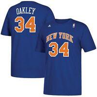 Charles Oakley New York Knicks adidas Name & Number T-Shirt - Royal