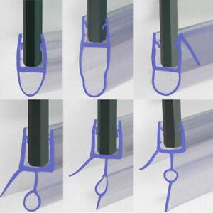Bath Shower Screen Door Rubber Seal Strip Glass for Thickness 4 - 6mm Gap 4-30mm