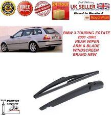 BMW 3 series E46 TOURING ESTATE 2001-2005 REAR WIPER ARM & BLADE WINDSCREEN NEW
