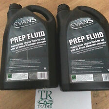 EVANS PREP FLUID engine flush for use with all Evans Waterless Coolants 10 Litre