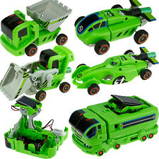 Rechargeable 7 In 1 Solar Powered Car Kit Educational Toy Kids DIY FunnyToy Gift