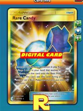 SR Rare Candy - Secret Rare for Pokemon TCG Online (DIGITAL ptcgo in Game Card)