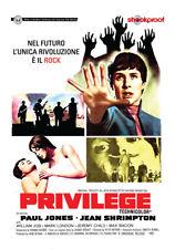 PRIVILEGE  SHOCKPROOF   DVD FANTASCIENZA