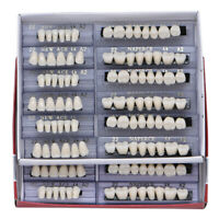 168pc Dental Acrylic Resin Denture 22# A2 Full Set Teeth Upper Lower Shade Tooth