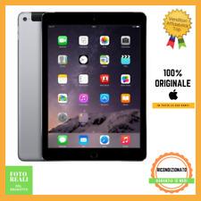 Tablet Apple Ipad Air 2 128GB Cellular LTE WiFi 9.7 Nero Ricondizionato Grado C