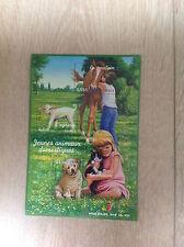Bloc feuillet 96 de 2006 neuf : nature de France - jeunes animaux domestiques